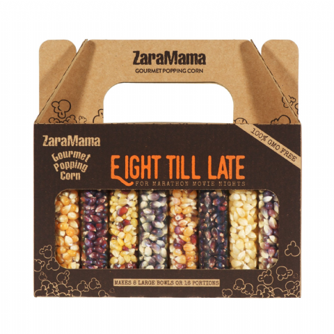 Eight Till Late Movie Gift Box 720g - ZaraMama Gourmet Popping Corn